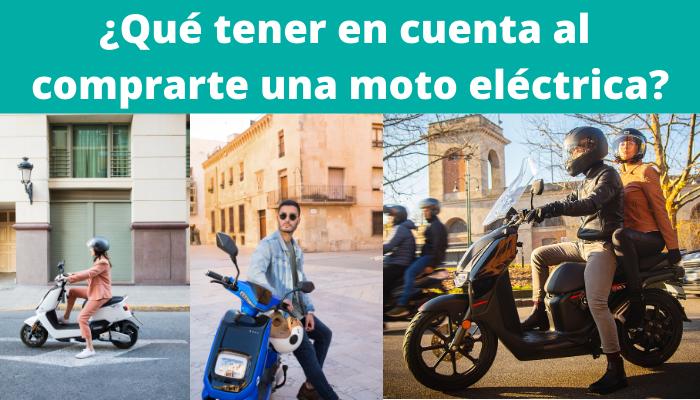 Por qué comprarte una moto eléctrica: Guía antes de comprar.